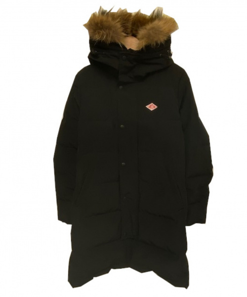 DANTON(ダントン)DANTON (ダントン) DOWN LONGコート ブラック サイズ:36 冬物 JD-8744 LASの古着・服飾アイテム