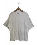 AURALEE(オーラリー)の古着「HIGH GAUGE DOUBLE CLOTH TEE」|ホワイト