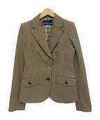 BURBERRY BLUE LABEL(バーバリーブルーレーベル)の古着「テーラードジャケット」|ベージュ