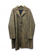 FENDI JEANS(フェンディ ジーンズ)の古着「[OLD]ヴィンテージレオパードコート」|ブラウン