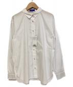 BLUE LABEL CRESTBRIDGE(ブルーレーベルクレストブリッジ)の古着「レギュラーカラーシャツ」|ホワイト