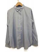 BLUE LABEL CRESTBRIDGE(ブルーレーベルクレストブリッジ)の古着「レギュラーカラーシャツ」|ブルー