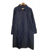 Traditional Weatherwear(トラディショナル ウェザーウェア)の古着「デニムステンカラーコート」|インディゴ