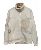 ()の古着「ボアフリースジャケット」 ホワイト
