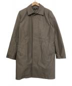 A.P.C.(アーベーセー)の古着「ステンカラーコート」|グレー