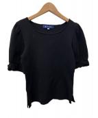 MS GRACY(エムズグレイシー)の古着「袖リボンニット」|ブラック