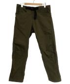BROWN by 2-tacs(ブラウン バイ ツータックス)の古着「HIKE PANTS」|カーキ