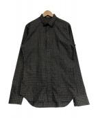 Dior Homme(ディオールオム)の古着「チェックシャツ」|グレー