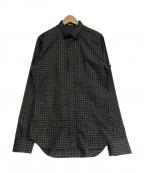 DIOR HOMME()の古着「チェックシャツ」|グレー
