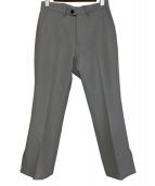 KAIKO(カイコー)の古着「70606-P/フレアトラウザー」|ライトグレー