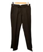 KAIKO(カイコー)の古着「フレアトラウザー」|ブラック