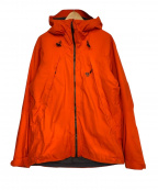 MOUNTAIN HARD WEAR(マウンテンハードウェア)の古着「中綿フーデッドジャケット」|オレンジ