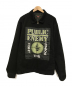 Supreme×Undercover(シュプリーム×アンダーカバー)の古着「Public Enemy Work Jacket」|ブラック