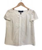 MS GRACY(エムズグレイシー)の古着「レースリボンブラウス」|ホワイト