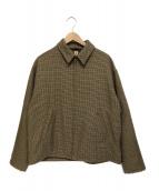 KAPTAIN SUNSHINE(キャプテン サンシャイン)の古着「Sports Jacket」|ブラウン