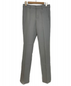 NEON SIGN(ネオンサイン)の古着「Slim Tapered Slacks」|グレー