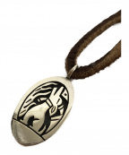 HOPI族()の古着「オーバーレイハウリングコヨーテトップネックレス」