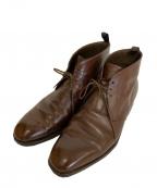 CARMINA(カルミナ)の古着「チャッカーブーツ」|ブラウン