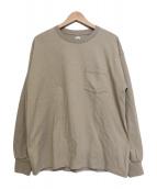 KAPTAIN SUNSHINE(キャプテン サンシャイン)の古着「〈別注〉ウエストコースト長袖Tシャツ」|ベージュ
