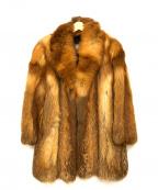 SAGA FOX(サガフォックス)の古着「ファーコート」|ブラウン