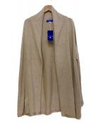 BLUE LABEL CRESTBRIDGE(ブルーレーベルクレストブリッジ)の古着「トッパーカーディガン」|ベージュ