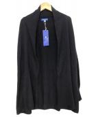 BLUE LABEL CRESTBRIDGE(ブルーレーベルクレストブリッジ)の古着「トッパーカーディガン」|ネイビー