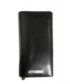 Saint Laurent Paris(サンローランパリ)の古着「長財布」|ブラック