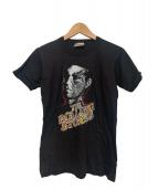 バンドTシャツ(バンドTシャツ)の古着「[古着]80's THEROLLINGSTONES Tシャツ」|ブラック×イエロー