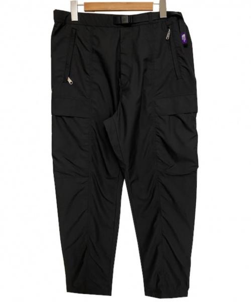 THE NORTHFACE PURPLELABEL(ザノースフェイスパープルレーベル)THE NORTHFACE PURPLELABEL (ザノースフェイスパープルレーベル) イージーカーゴポリパンツ ブラック サイズ:W36の古着・服飾アイテム