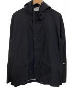 MILLET(ミレー)の古着「フーデッドジャケット」 ブラック