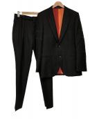 Paul Smith(ポールスミス)の古着「FAGOTTING STITCH セットアップスーツ」|ブラック
