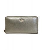 Kate Spade(ケイトスペード)の古着「長財布」|ゴールド
