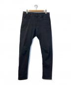 G-STAR RAW(ジースターロゥ)の古着「スキニーデニムパンツ」|ブラック