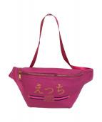 FR2(エフアールツー)の古着「Waist & shoulder Bag」 ショッキングピンク