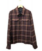 UNDERCOVER(アンダーカバー)の古着「アーミーシャツブルゾン」|ブラウン