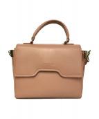 LANCASTER(ラカンスター)の古着「2WAYショルダーバッグ」|ピンク
