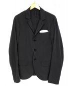 AQUARAMA(アクアラマ)の古着「ストレッチ ノッチドラペルテーラードジャケット」|ネイビー