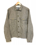 Marvy Jamoke(マーヴィージャモーク)の古着「リネンジャケット」|グレー