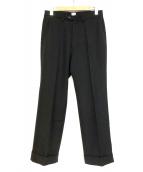 KAIKO(カイコー)の古着「ワイドスラックス」|ブラック