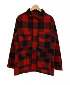PENDLETON(ペンドルトン)の古着「バッファローチェック柄ジャケット」 レッド×ブラック