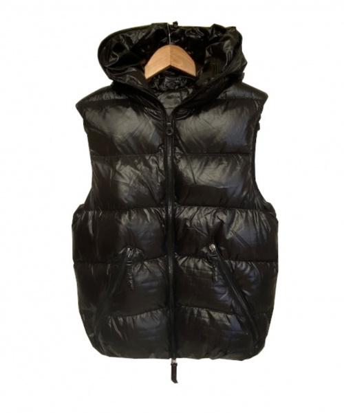DUVETICA(デュベティカ)DUVETICA (デュベティカ) ダウンベスト/ARISTEODUE ブラック サイズ:46 定価57.000円の古着・服飾アイテム