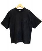 AURALEE(オーラリー)の古着「半袖カットソー」|ブラック