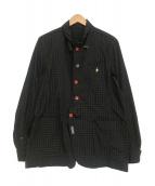 UNDERCOVERISM(アンダーカバイズム)の古着「再構築チェックシャツジャケット」|グリーン×ネイビー