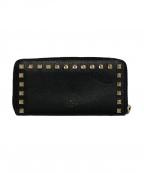 VALENTINO()の古着「長財布」 ブラック