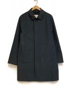 Traditional Weatherwear(トラディショナル ウェザーウェア)の古着「ナイロン ステンカラー コート」|ネイビー
