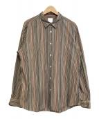 Paul Smith(ポールスミス)の古着「マルチストライプシャツ」 マルチカラー