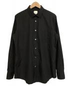 Paul Smith(ポールスミス)の古着「ブロード ドレスシャツ」 ブラック