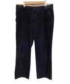 eye JUNYA WATANABE MAN(アイ・ジュンヤワタナベマン)の古着「ウエスト切替パンツ」 ネイビー