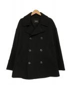 ZUCCA(ズッカ)の古着「ダッフルウール/Pコート」|ブラック
