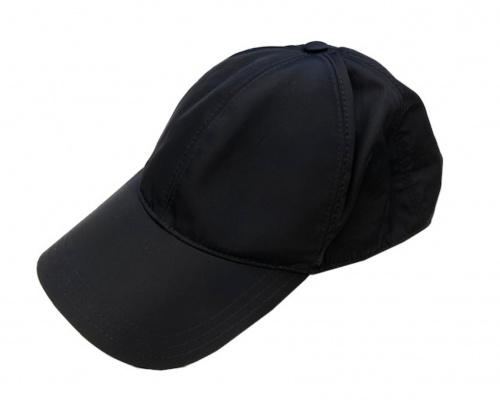 PRADA(プラダ)PRADA (プラダ) キャップ ブラックの古着・服飾アイテム